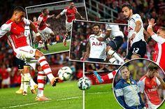Arsenal Oo Dirqi Ku Barbaraysay Tottenham Iyo Chamberlain Oo Shinbir U Noqday