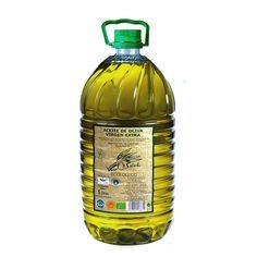 Aceite de oliva ecológico Verde Salud - www.olivadelsur.com http://olivadelsur.com/es/ecologico/47-verde-salud-garrafa-pet-5-l.html