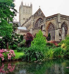 chevet, lady chapel + tower of the st andrew's cathedral, wells, england Somerset England, England And Scotland, Fife Scotland, St Andrews, The Places Youll Go, Places To See, Cathedral Church, Anglican Cathedral, Chapelle