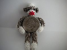 Sauerkraut the Sock Monkey mini, free pattern