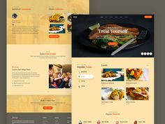 Meal is a free HTML5 CSS template tailored using bootstrap 4, CSS3 and jQuery web technologies. It can make food-related websites stand out from the competition. It can make menu or recipes look attractive, delightful and innovative. Check out pleasant and charming features you'd love with this free template! Css Website Templates, Restaurant Website, Html Css, Web Technology, Popular Recipes, Design Development, Treat Yourself, Food To Make, Menu