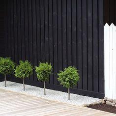 pallotuija 2 Garden Yard Ideas, Terrace Garden, Backyard Ideas, Fence Ideas, Patio Ideas, Fence Design, Garden Design, Black House, Landscape Design