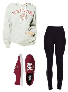 """My Outfit Right Now"" by gjlamb on Polyvore featuring Forever 21 and Vans"