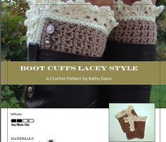My new boot cuff pattern! :)