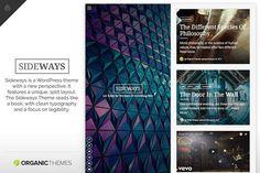 Sideways Theme. WordPress Blog Themes
