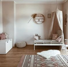 "1,338 Me gusta, 7 comentarios - Scandinavian Homewares (@istome_store) en Instagram: ""What a pretty little girl's room by @peschkart Ferm Living The Round Dorm available to order in…"""