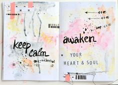 art journal by zyan at @Studio_Calico