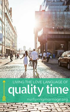"Living the Love Language of Quality Time - Does your spouse ever say things like, ""You don't seem to have time for me. We used to do things together. Now you are always too busy or too tired?"" This may come as a shock, especially if you're with your spouse during the day/after work. If this is you, it's very possible you're not speaking your spouse's love language throughout the day!"