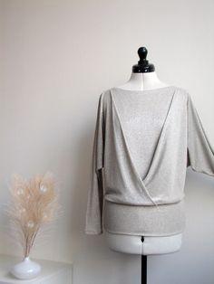 Jersey Pullover, Tunika // jersey shirt via DaWanda.com