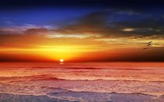 Sunset Beach by ChiaraLily9 on DeviantArt
