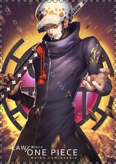 Trafalgar Law by ZhangDing.deviantart.com on @DeviantArt
