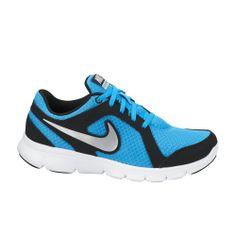 Το γαλάζιο με ασημένιες λεπτομέρειες NIKE Flex Experience, κατασκευασμένο από ύφασμα και συνθετικό υλικό, για να αναπνέει το πόδι, με τεχνολογία Flex, για ολική απορρόφηση κραδασμών και εξωτερική σόλα από καουτσούκ, κάνει την άθληση ξεκούραστη. Running Shoes Nike, Nike Shoes, Sneakers Nike, Cheap Deals, Shoes 2014, Workout Shoes, Nike Flex, Trainers, Platform