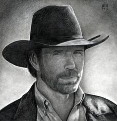 how to draw chuck norris, chuck norris