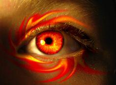 Fire Witch Eye by asdfgfunky