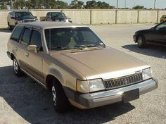 1987 Mercury Lynx wagon.  Owned new in 1987.  Traded the Cordoba.  Ours was blue