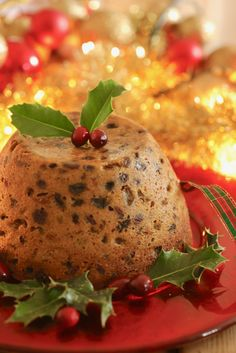 Microwave Christmas Pudding all ready to serve! Easy Microwave Desserts, Microwave Recipes, Christmas Pudding, Christmas Desserts, Christmas Cooking, Christmas Recipes, Holiday Recipes, Christmas Ideas, Dog Cat