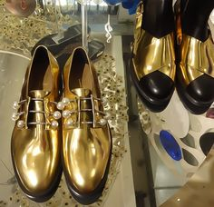 Shoes with jewelry by Coliac
