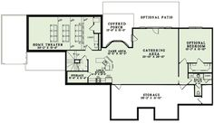 One Level Home with Optional Lower Level - 60590ND   Architectural Designs - House Plans