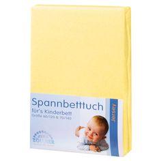 Weicher Liegekomfortin fröhlichem Gelb. 60x120 - 70x140 cm.