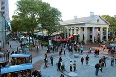 Quincy Market, Boston One of the best places (as a foodie) that I have ever had the pleasure being to.