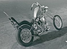 Jeff McCann Panhead chopper