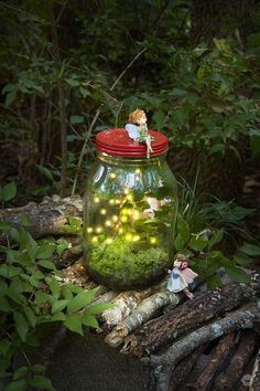Create Cute Fairy Garden Ideas 25