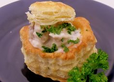 Vol-au-vent--Had this when I was in Belgium.  Hands down, my favorite dish.