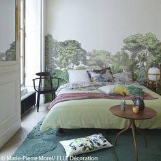 Idee deco n 3 une papier peint panoramique pour la chambre