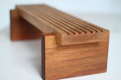 African Inspired Bench/Stool by StephaneHubertDesign on Etsy, $300.00