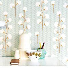 Papier peint écologique intissé pour chambres d\'enfants et d\'adultes ...