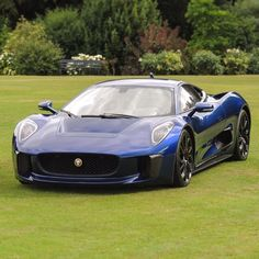 Jaguar C-X75 Mom had one of these but of course, she had to get it in black.