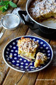 płaszkowo: Ciasto z rabarbarem i jabłkami French Toast, Breakfast, Blog, Morning Coffee, Blogging