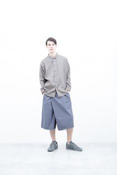 Shirt : S6_N024S : WDSH 21,000yen+tax br; Half Pants : S6_N123P : TTYSPT 22,500yen+tax