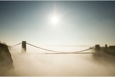 PICTURES: Bristol's Clifton Suspension Bridge in the fog | Bristol Post