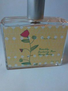 Love & Toast Paper Flower Perfume Waterlily Dewberry Rose Ylang Fragrance 3.5 Oz #LoveToast
