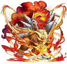 「新版本爆料①」烈焰中的怒吼,火焰君主炎帝闪亮登场 - 口袋妖怪FuKe - 微信公众号文章 - 微小领 Mega Pokemon, Mecha Anime, Pokemon Cards, Digimon, Mythical Creatures, Bowser, Fantasy, Bird, Wallpaper