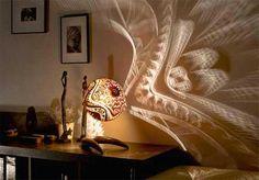 Custom Lamp Shade - Design via www.trendsi.com
