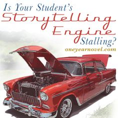 There are many reasons why young writers stall. And it's hard to watch, as a parent and teacher. What do you do when your son or daughter loses momentum with The One Year Adventure Novel course?