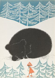 Polish Children's Books Illustration -Bear