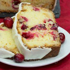 Cranberry White Chocolate Pound Cake - http://bobbiesbakingblog.com/blog/2012/12/05/cranberry-white-chocolate-pound-cake-recipe-tutorial/