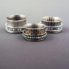 Dana Evans Studio Blog: New Spinner Rings