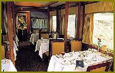 Dining on the Blue Train South Africa