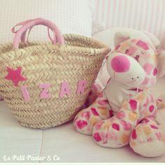 Capazos personalizados para niñas coquetas y mamás estilosas, más info en htto://lepetitpanierandco.blogspot.com