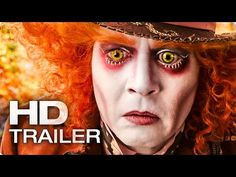ALICE IN WONDERLAND 2: Through the Looking Glass Trailer (2016) - YouTube