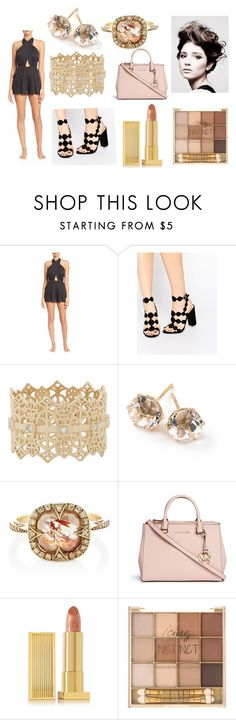 """""""Untitled #65"""" by mduda0570 on Polyvore featuring 6 Shore Road, Grace Lee Designs, Ippolita, Cathy Waterman, Michael Kors, Lipstick Queen and Angelo"""