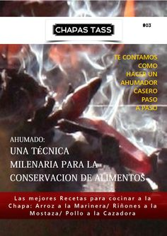 Revista Chapas Tass nro 3 Make It Simple, Names, How To Make, Recipe Books, Best Recipes, Preserving Food, Smoker Cooking, Homemade