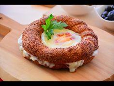 Yumurtalı Kaşarlı Simit Tava ( Muhteşem bir lezzet) - YouTube