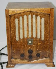 VINTAGE OAK RADIO Model: Kobra 305 AC - Kolster-Brandes Ltd
