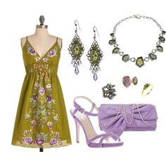 """Field of Flowers"" by bethherrmann on Polyvore"
