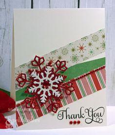 Pretty Christmas thank you